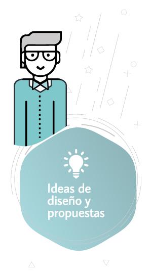ideas de diseños y propuestas